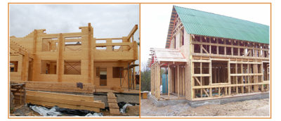 Чем отличается каркасный дом от брусового?