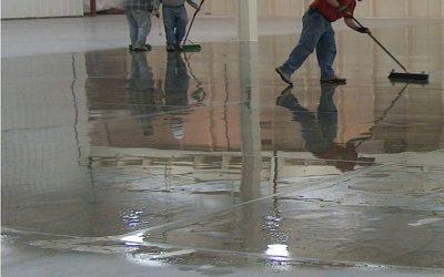 Чем покрыть бетонную стяжку чтобы не пылила?