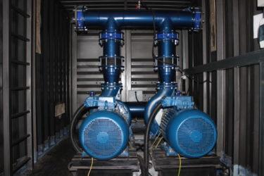 Насосная станция водоснабжения в блок боксе