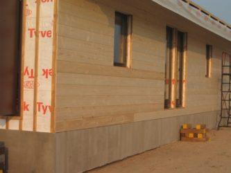 Обшивка каркасного дома имитацией бруса снаружи