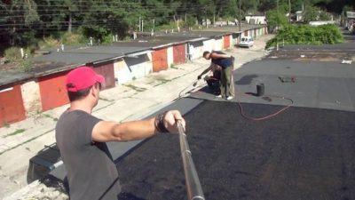 Капитальный ремонт кровли гаража