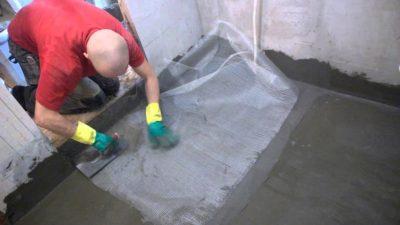 Гидроизоляция на стяжку под плитку