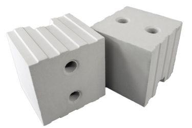Блок силикатный пазогребневый стеновой рядовой