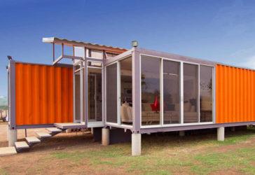 Модульный дом из блок контейнеров