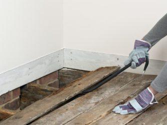 Можно ли залить стяжку на деревянный пол?