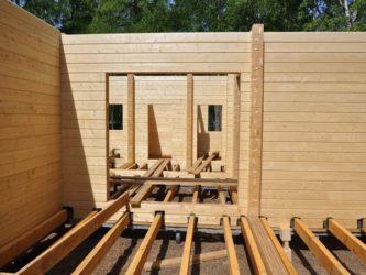 Строительство из профилированного бруса своими руками
