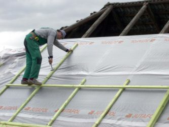 Спанбонд в строительстве домов