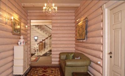 Отделка блок хаусом внутри дома своими руками