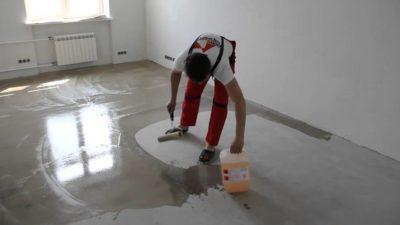 Самовыравнивающий бетон confix дренажный бетон