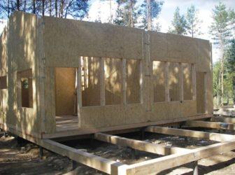 Строительство сборно щитовых домов