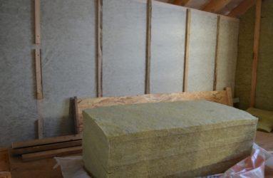 Утепление каркасного дома изнутри минватой