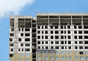 Изменение этажности жилого дома в процессе строительства