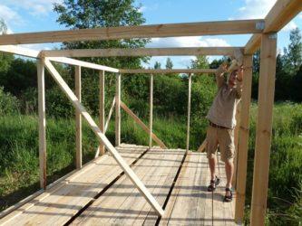 Как построить каркасный сарай своими руками?