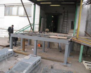 Строительство бетонно блочных складских пандусов