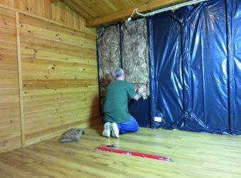Утеплитель для внутренней отделки стен