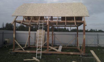 Строительство каркасной летней дачи своими руками