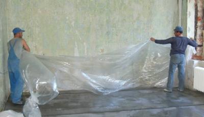 Как ухаживать за полусухой стяжкой после заливки?
