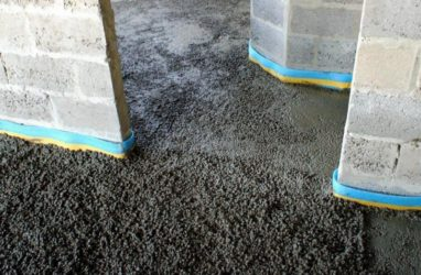 Полусухая стяжка пола на керамзит