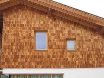 Мягкая кровля для стен дома фасад