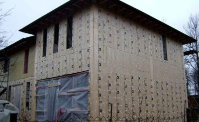 Утеплители для наружных стен дома пеноплекс