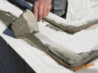 Как армировать газосиликатные блоки?