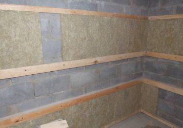 Внутренняя отделка дома из керамзитобетонных блоков