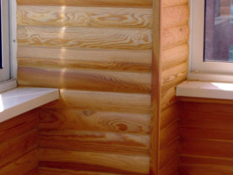 Блок хаус внутренняя отделка своими руками