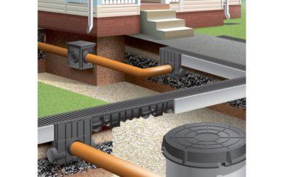 Строительство ливневой канализации в доме
