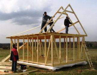 Деревянный дом своими руками без опыта строительства