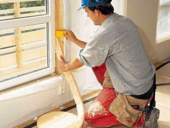 Как правильно клеить утеплитель на окна?