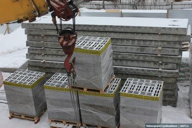 Плиты перекрытия на керамзитобетонные блоки
