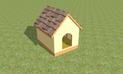 Строительство собачьей будки своими руками