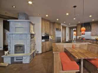 Строительство дома с печным отоплением
