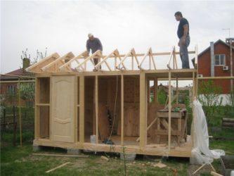 Каркасное строительство своими руками курятника