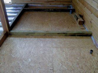 Стяжка пола на деревянные перекрытия
