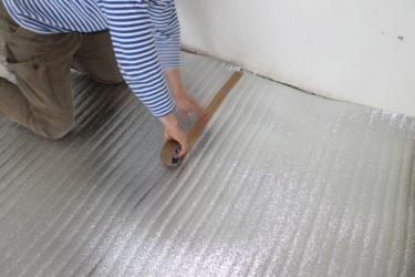 Утеплитель под ламинат на бетонный пол
