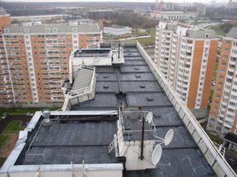 Виды кровель жилых многоквартирных домов