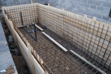 Технология строительства бассейна из бетона