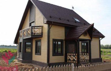 Отделка каркасного дома снаружи варианты