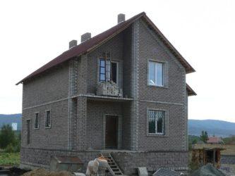 Строительство частного дома из керамзитобетонных блоков