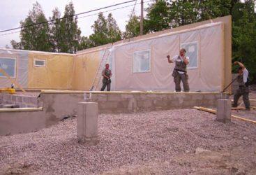 Как финны строят каркасные дома?