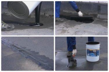 Мастика для ремонта мягкой кровли холодным способом
