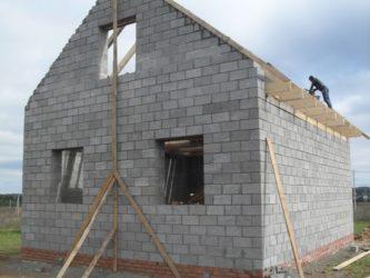 Построить дом из бетонных блоков