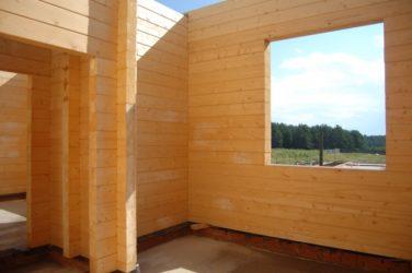 Строительство брусового дома своими руками