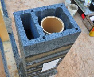 Дымоход из керамических блоков