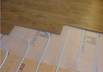 Пеноплекс под ламинат без стяжки