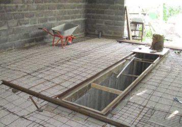 Как сделать бетонную стяжку в гараже?