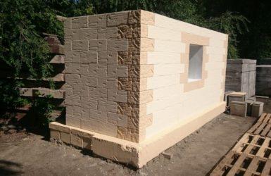 Фиброблоки для строительства дома