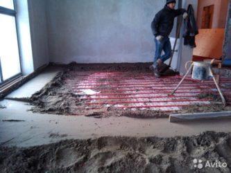 Штукатурка стен или стяжка пола что раньше?