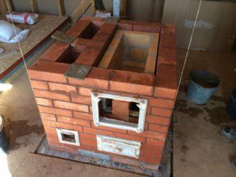 Строительство печей из кирпича своими руками